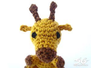 Amigurumi Giraffe Face