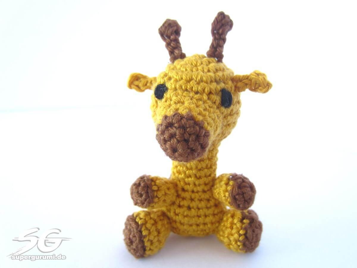 Amigurumi Crochet Giraffe Pattern - Supergurumi