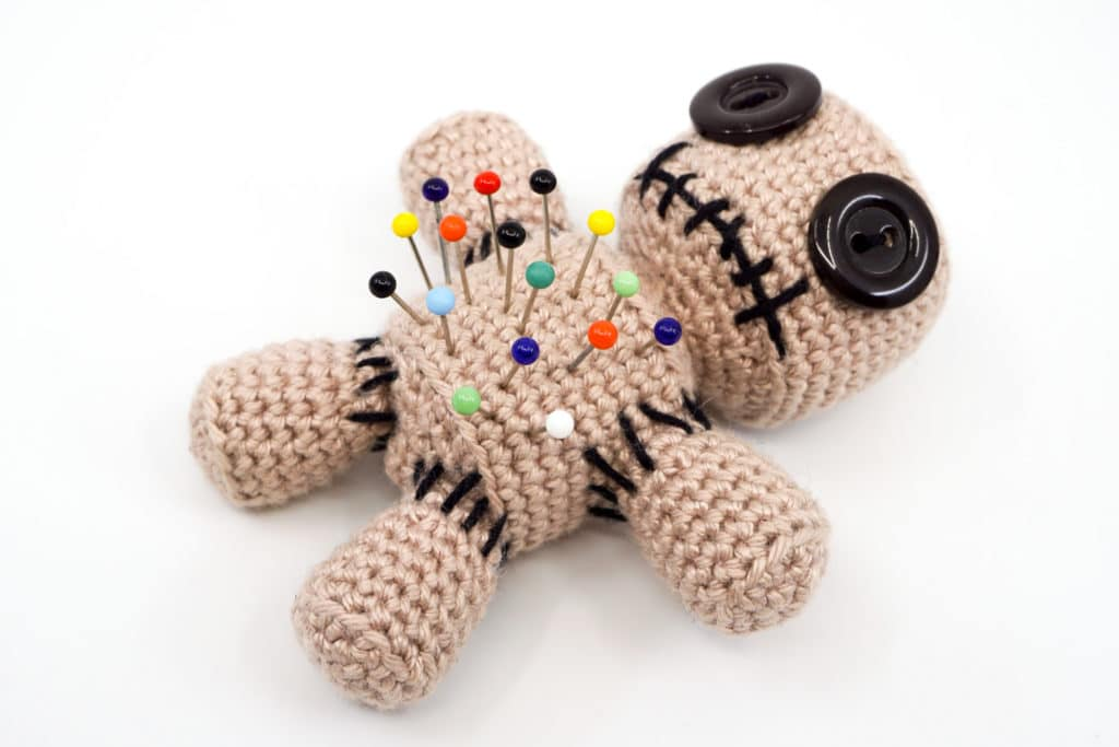 Amigurumi Voodoo Doll Pincushion