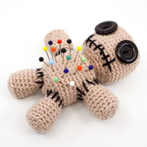 Voodoo Doll Pincushion Crochet Pattern
