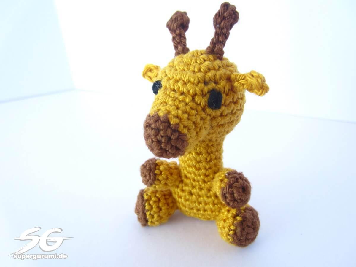 Amigurumi Katze : Amigurumi Crochet Giraffe Pattern - Supergurumi