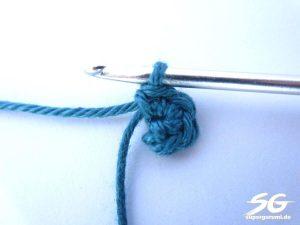 Crochet Cube Round 1