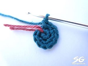 Crochet Cube Round 2