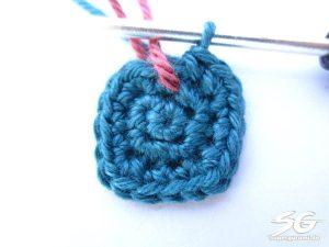 Crochet Cube Round 3