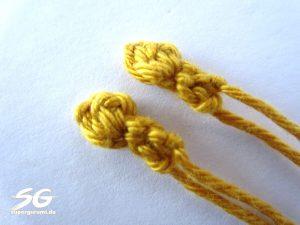 Crochet Giraffe Ears