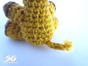 Sew On Giraffe Tail