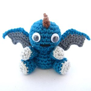 Amigurumi Crochet Dragon Pattern