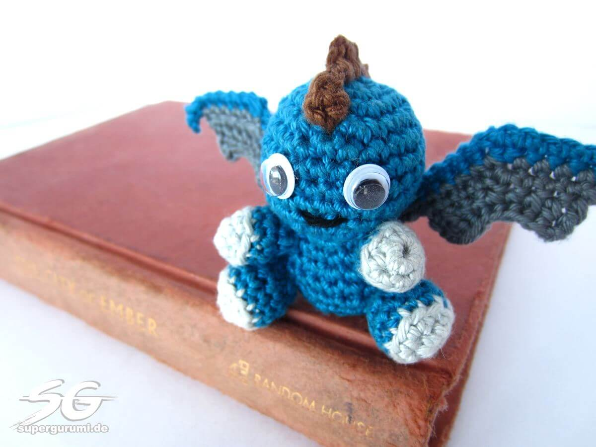Amigurumi Quetzal : Amigurumi crochet pattern dragon ~ kalulu for .