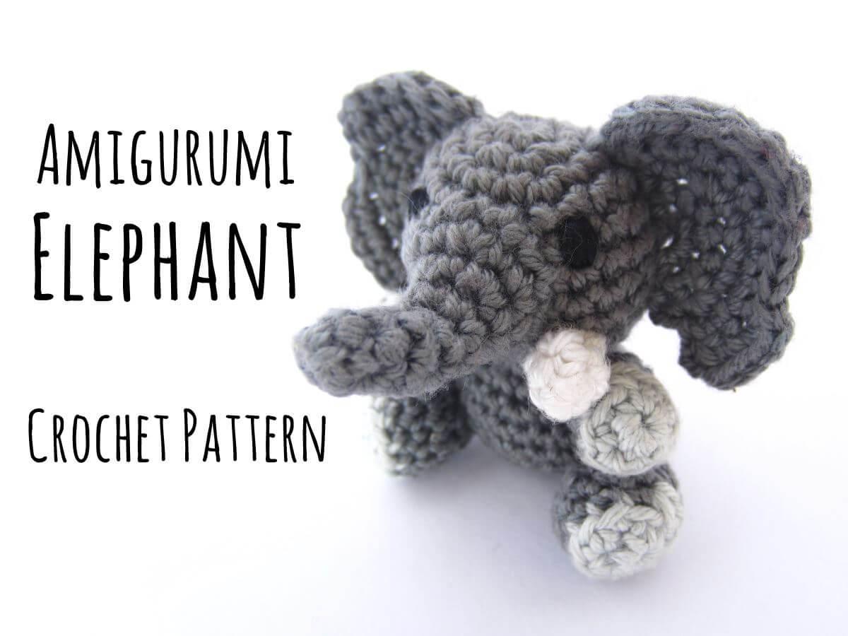 Amigurumi Crochet Elephant Pattern - Supergurumi