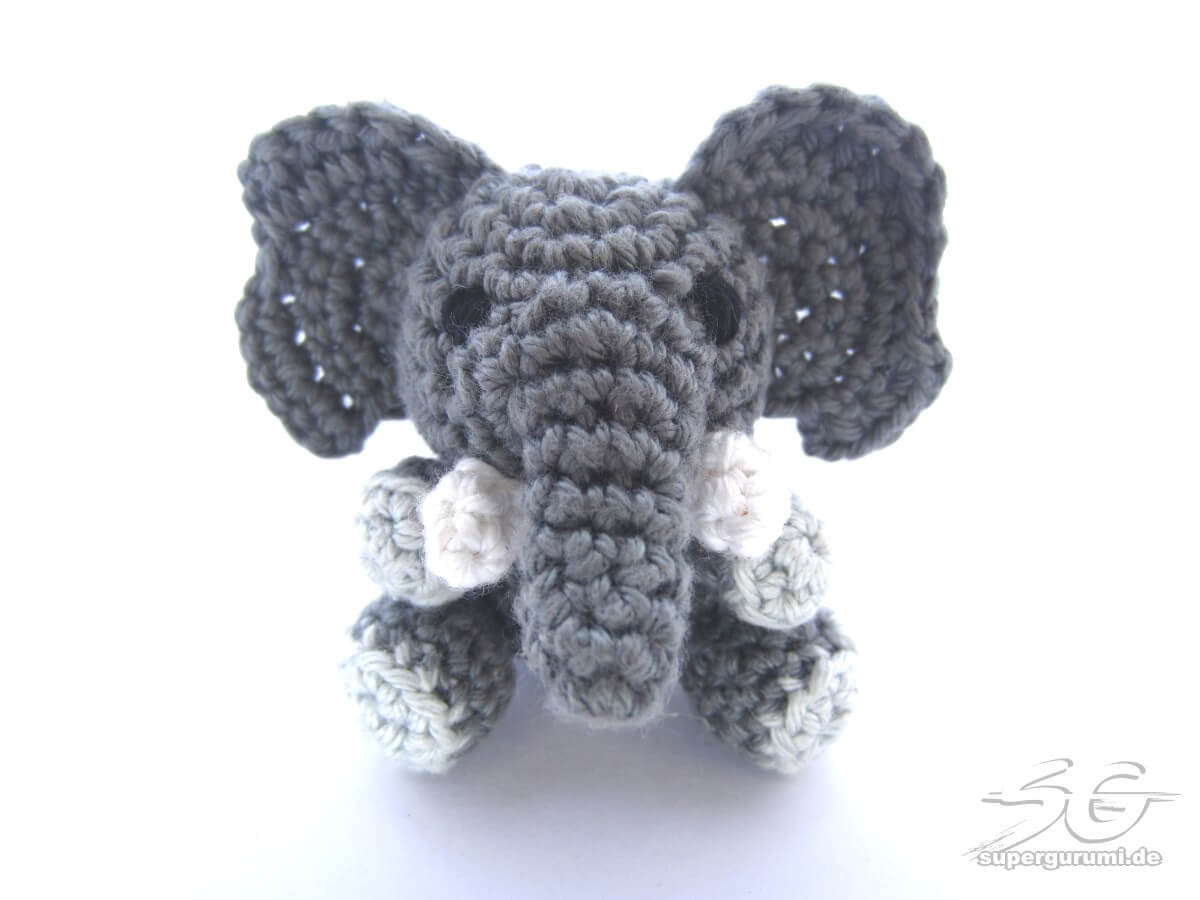 Ella The Elephant Free Crochet Pattern : How To Crochet Elephant Solution for how to for dummies