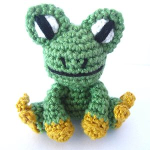 Amigurumi Crochet Frog Pattern