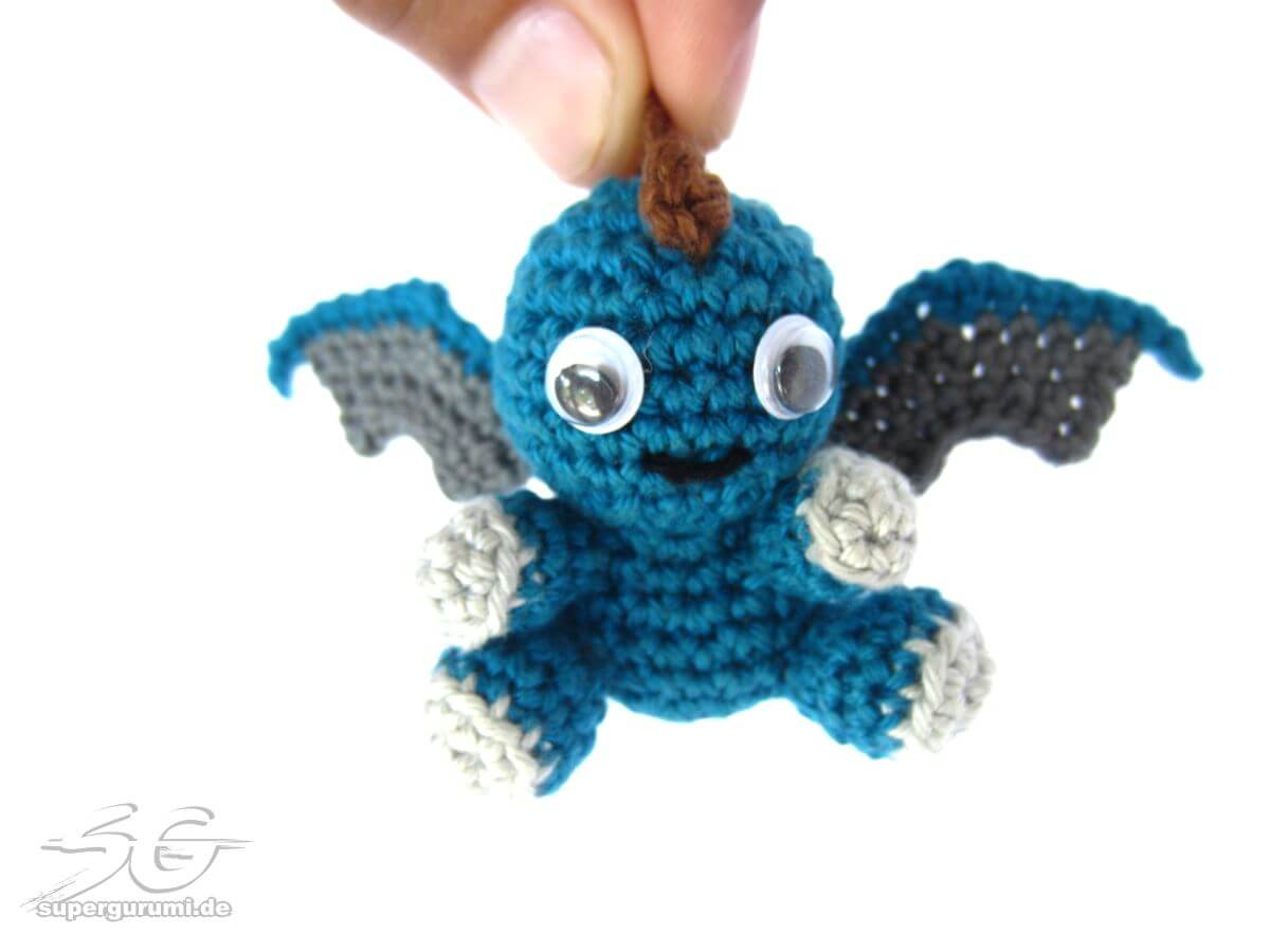 Large Amigurumi Pattern Free : Amigurumi Crochet Dragon Pattern - Supergurumi