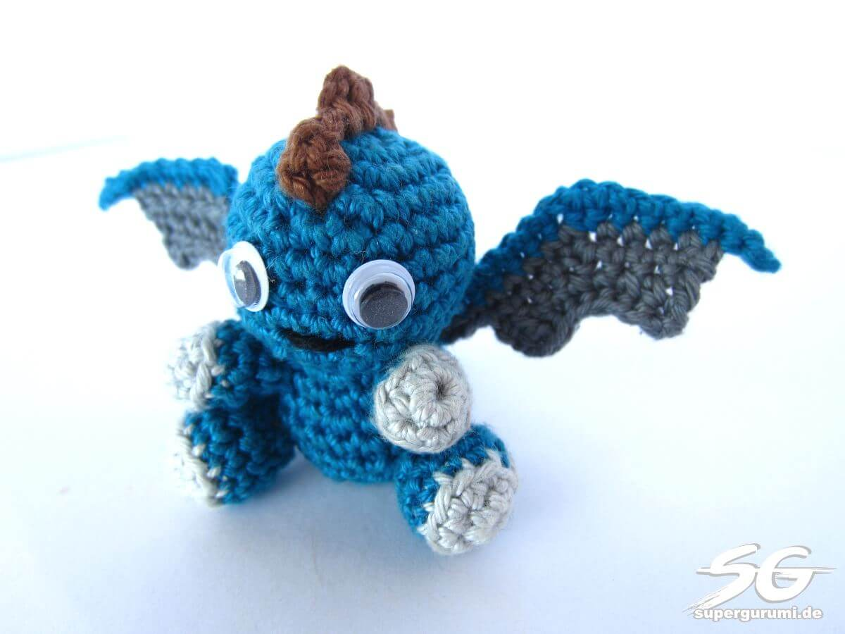 Amigurumi Crochet Dragon Pattern - Supergurumi