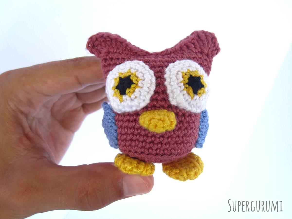 Extreme Amigurumi: Owen the the Owl Crochet Kit – Storyland Amis | 900x1200