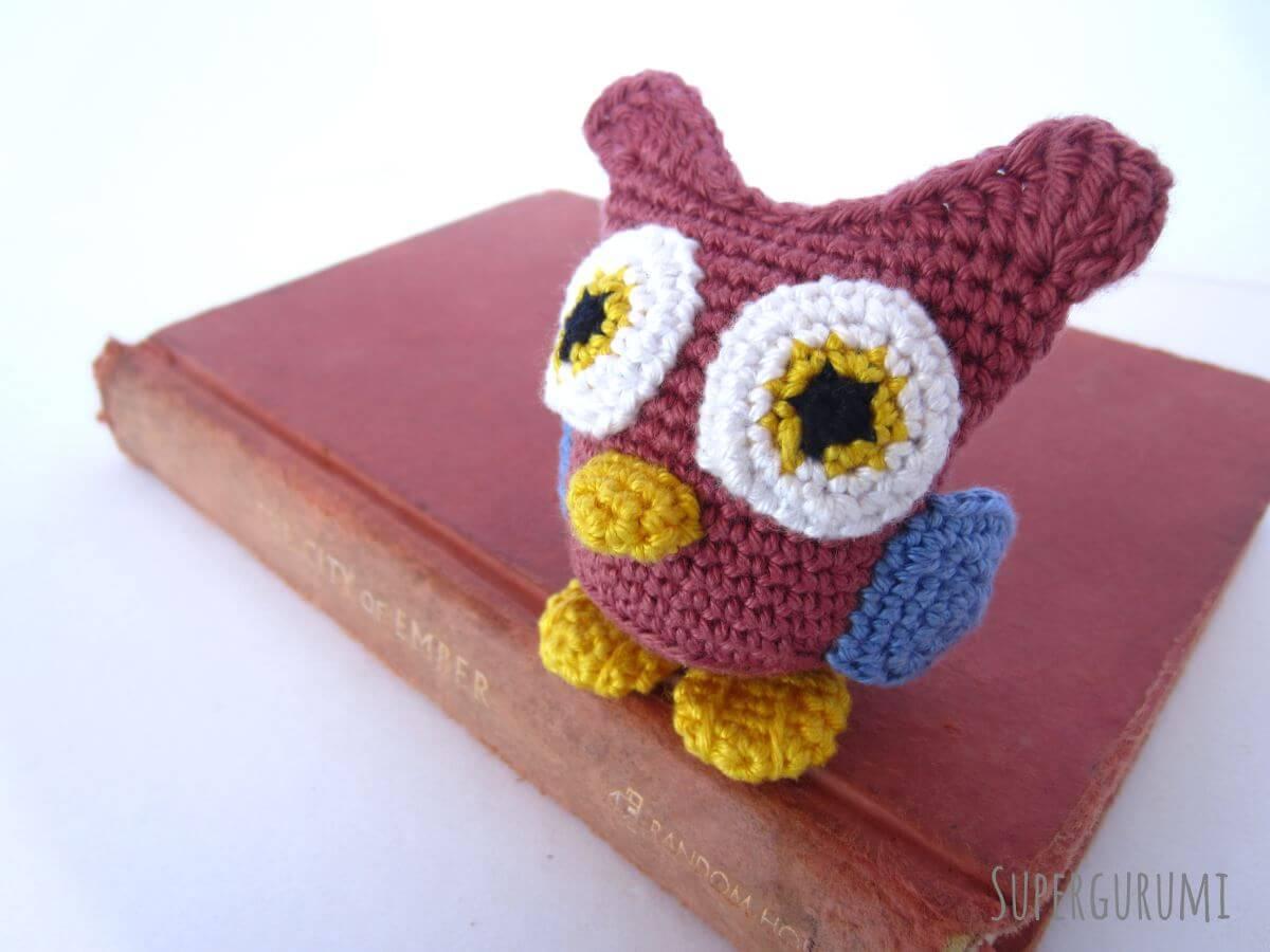 Amigurumi Owl Free Pattern : Amigurumi crochet owl pattern supergurumi