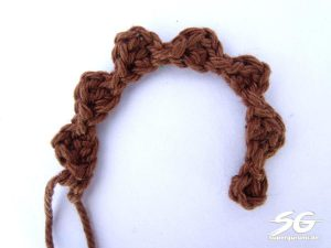 Crochet Dragon Spikes