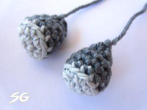 Crochet Elephant Legs