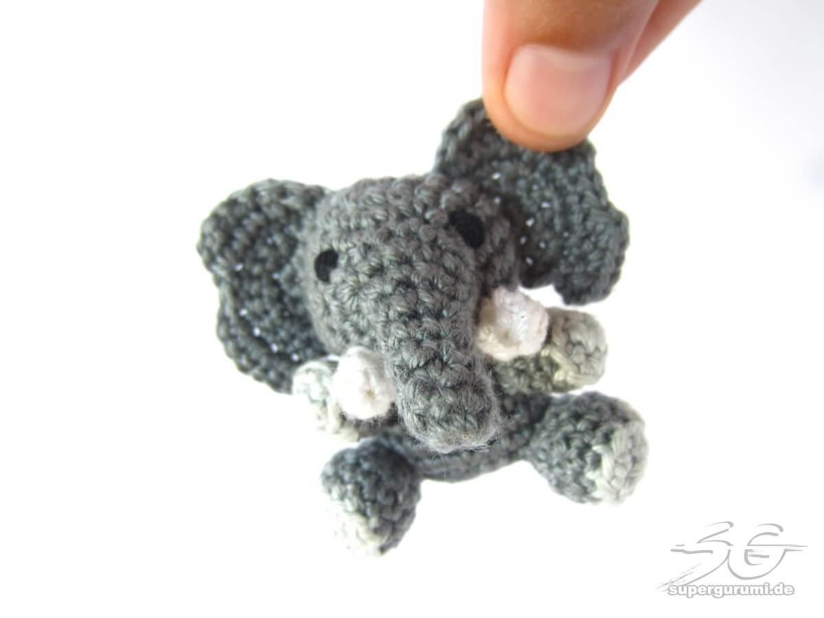 Amigurumi Patterns Elephant : Amigurumi crochet elephant pattern supergurumi