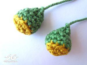 Crochet Frog Legs