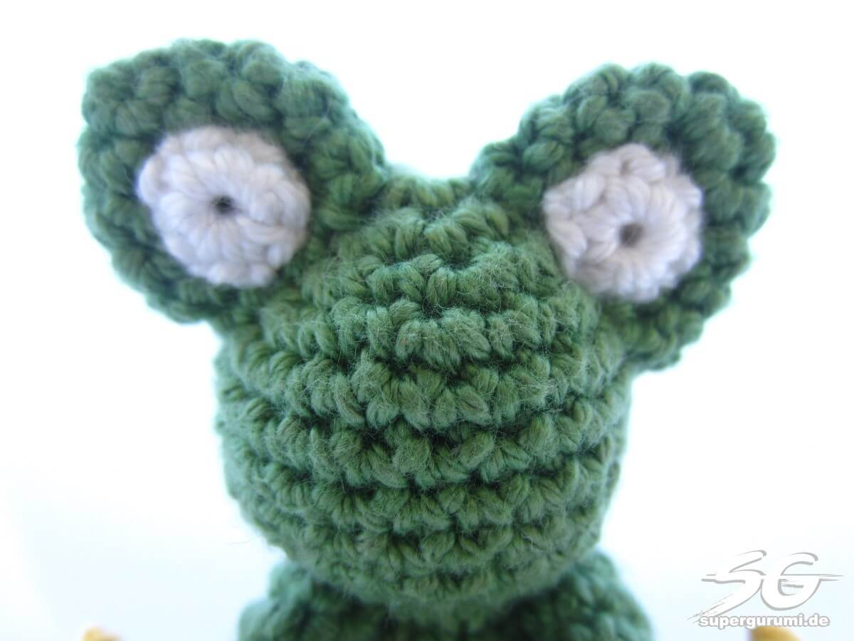 Amigurumi Eyes Pattern : Amigurumi crochet frog pattern supergurumi