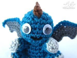 Stitch On Dragon Face