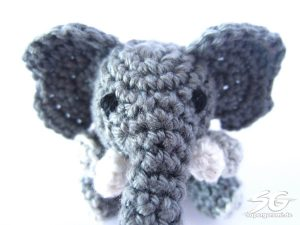 Stitch On Elephant Face