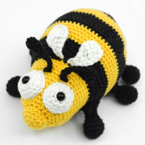 "Amigurumi Crochet Bee Pattern – ""The Chubby Bee"""