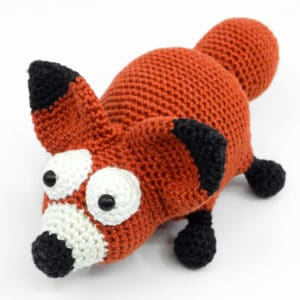 "Amigurumi Crochet Fox Pattern – ""The Chubby Fox"""
