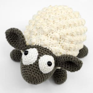"Amigurumi Crochet Sheep Pattern – ""The Chubby Sheep"""