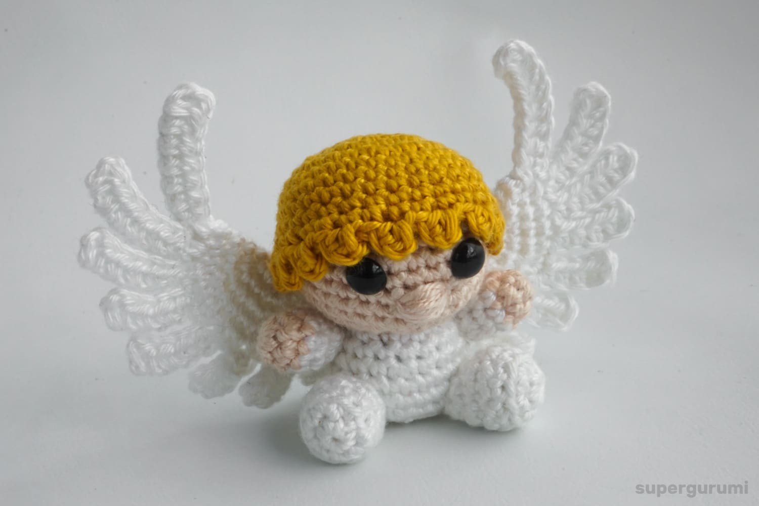 Amigurumi Crochet Angel Pattern | Supergurumi | 1000x1500