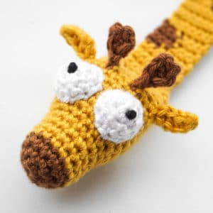 Amigurumi Giraffe Bookmark Crochet Pattern