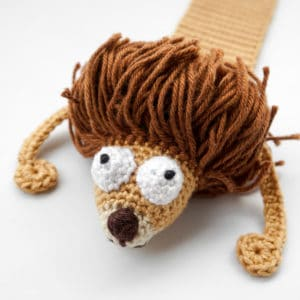 Amigurumi Lion Bookmark Crochet Pattern