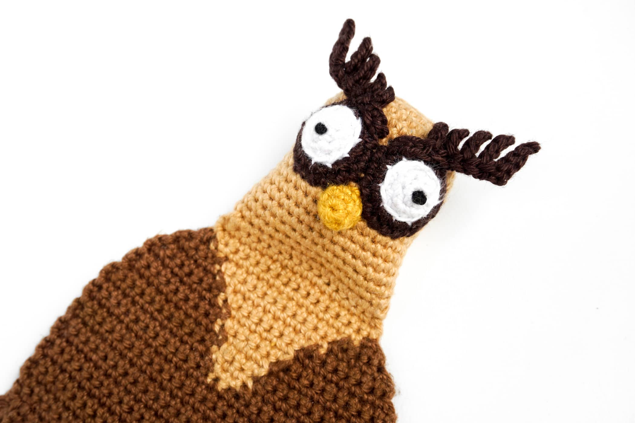 Free crochet pattern: Small amigurumi owls | 1400x2100