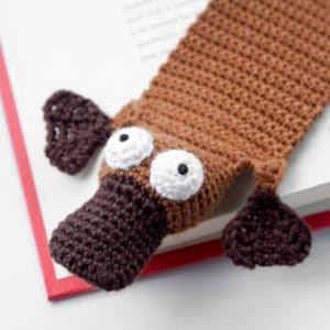 Amigurumi Platypus Bookmark Crochet Pattern