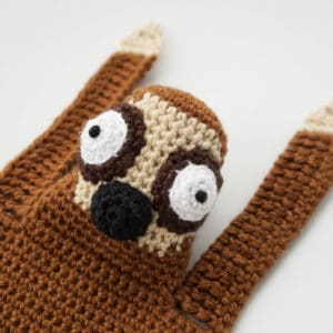 Amigurumi Sloth Bookmark Crochet Pattern