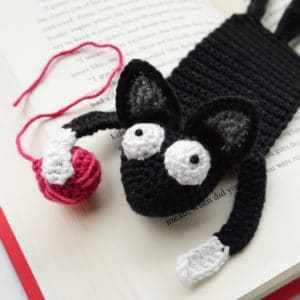 Amigurumi Cat Bookmark Crochet Pattern