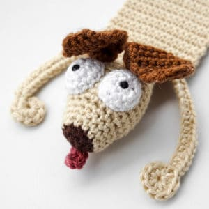 Amigurumi Dog Bookmark Crochet Pattern