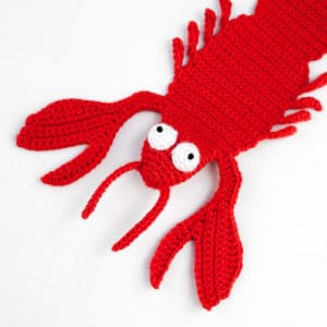 Amigurumi Lobster Bookmark Crochet Pattern