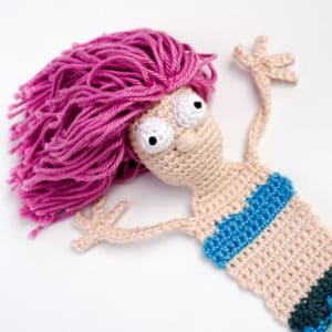 Amigurumi Mermaid Bookmark Crochet Pattern