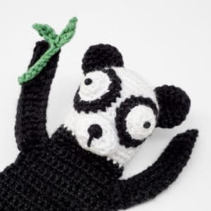 Amigurumi Panda Bookmark Crochet Pattern