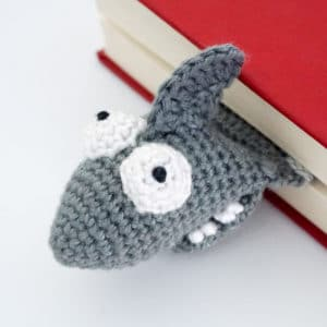 Amigurumi Shark Bookmark Crochet Pattern