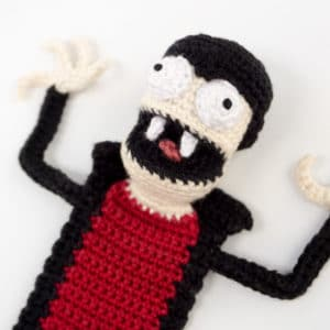 Amigurumi Vampire Bookmark Crochet Pattern
