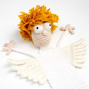 Amigurumi Crochet Angel Bookmark