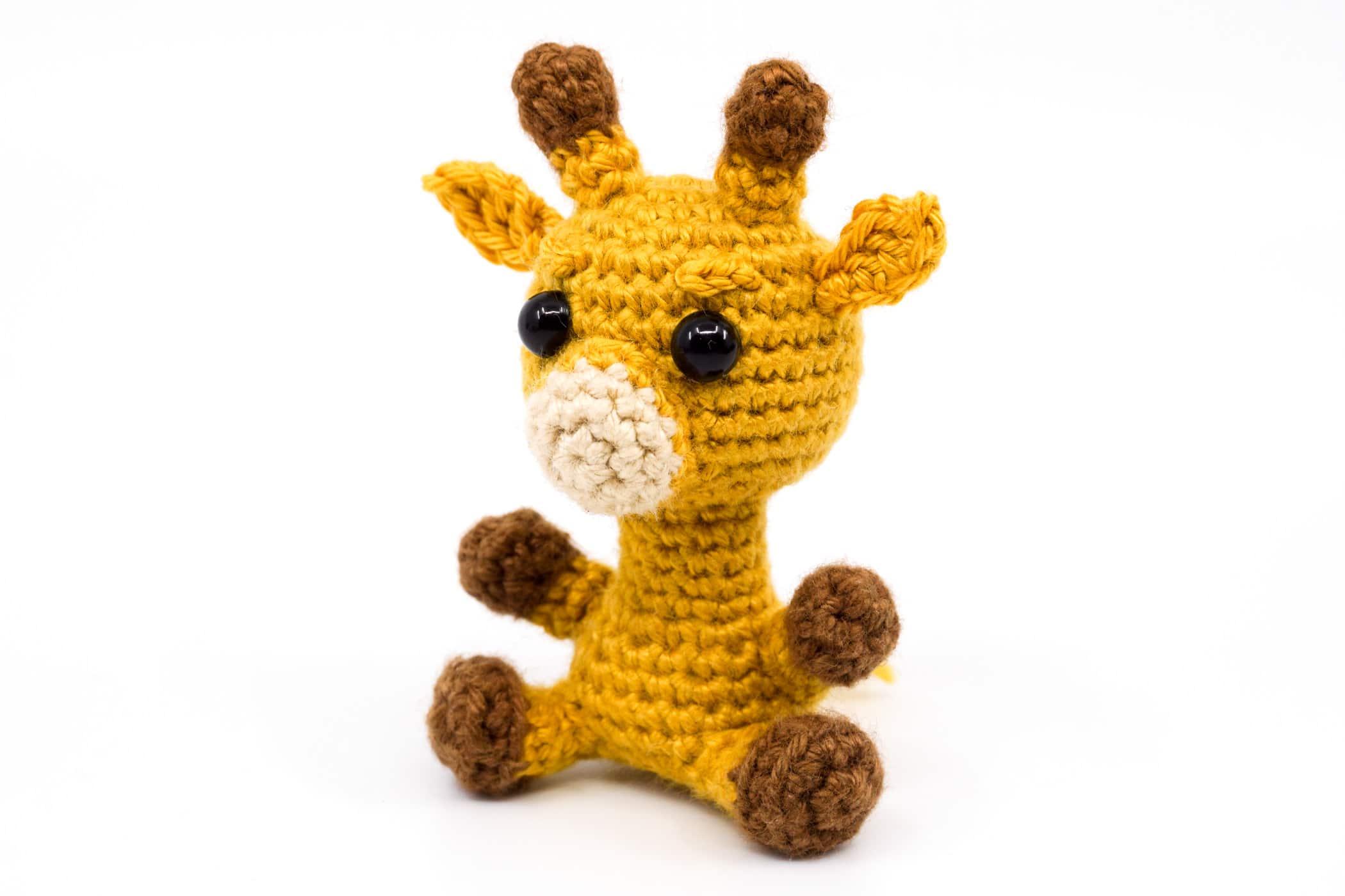 Amigurumi Crochet Giraffe Pattern by Little Bear Crochets | 1400x2100
