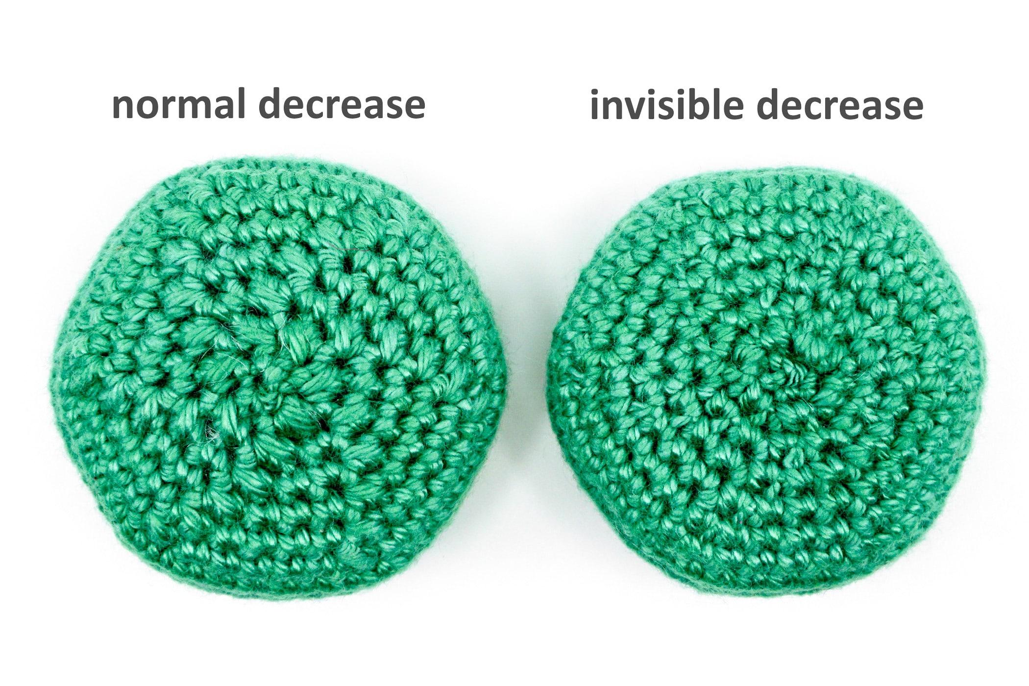 The Invisible Decrease | Invisible decrease crochet, Crochet hack, Single crochet  decrease | 1400x2100