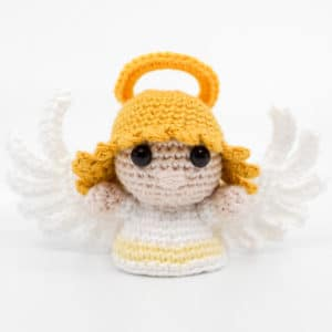 Amigurumi Female Angel Crochet Pattern