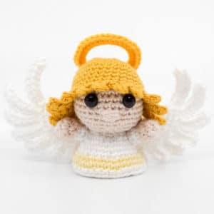 Amigurumi Female Angel Crochet Pattern