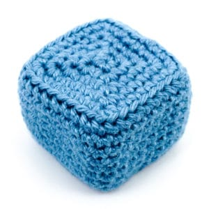 How to Crochet Cubes in Spiral Rounds