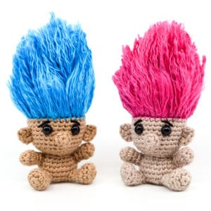 Amigurumi Trolls Crochet Pattern