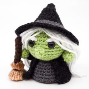Amigurumi Evil Witch Crochet Pattern